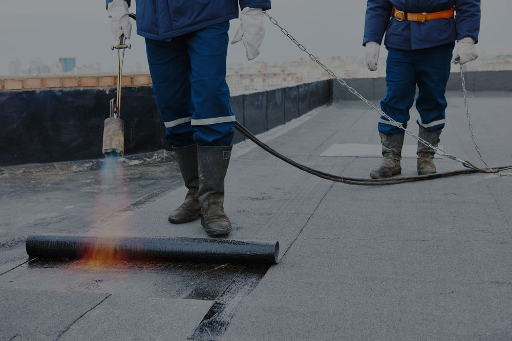 For flat roofing services
