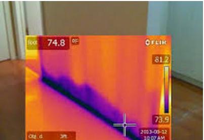 Thermal imaging and basement leak detection